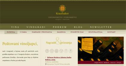 Vinarstvo i vinogradarstvo Krauthaker