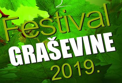 Festival graševine 2019. - Najava