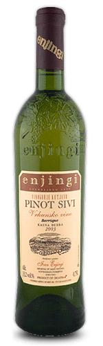Enjingi - Pinot sivi Eko vino Kasna berba