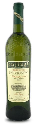 Enjingi - Sauvignon Eko vino Kasna berba